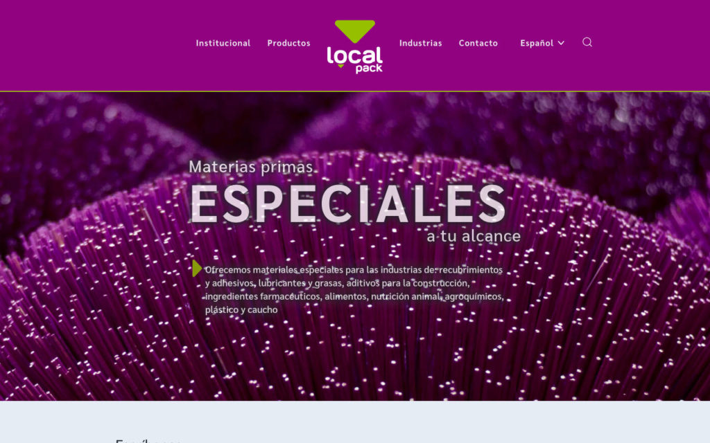 localpack homepage